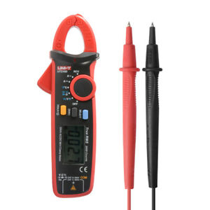 Uni t Ut210d 200a Ac dc Mini Clamp Meter Handheld Digital Multimeter Test Bi779