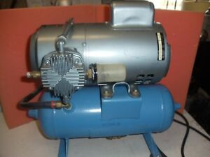 Gast Air Compressor Pump With Tank 5kc45ng1193t