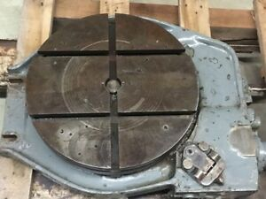 Kearney Trecker Corp 16 Rotary Table