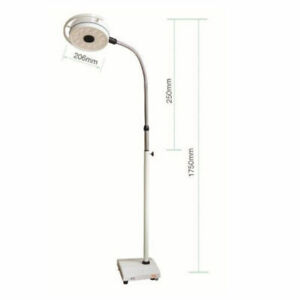 Dental 36w Mobile Surgical Medical Exam Light 12 Led Shadowless Cold Lamp