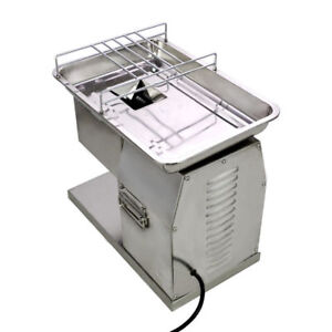 250kg Output Meat Slicer Meat Cutting Machine Cutter With 2 Sets Of Blade 110v