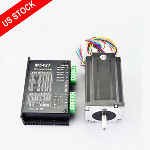 1 Axis Nema 24 Stepper Cnc Kit 4 0nm 566oz in Motor Driver Cnc Router Kits