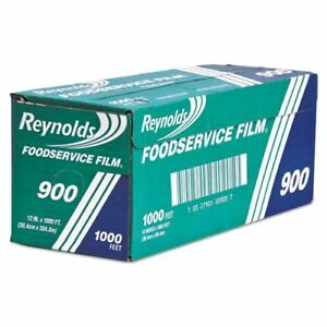 Reynolds Wrap 900brf Continuous Cling Food Film 12 In X 1000 Ft Roll Clear