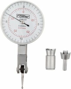 Fowler 52 560 060 Inch metric Dial Test Indicator With Satin Chrome Finish