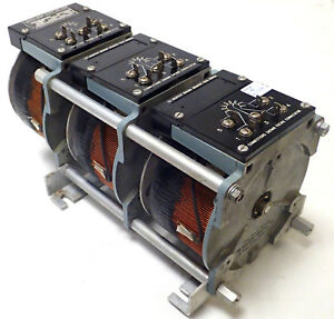Superior Electric 126u 3 Powerstat Variable Auto transformer 3 Phase 0 280v 15a