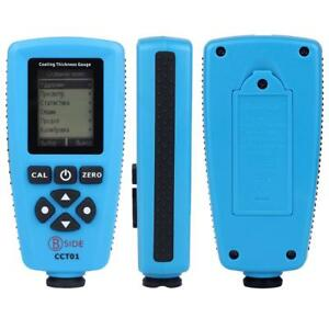Cct01 Digital Coating Thickness Gauge Meter Tester F n Probe Usb Interface Hot