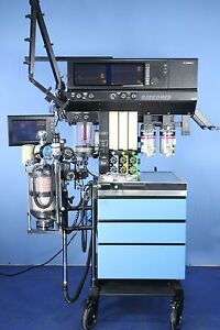 Narkomed 4 Anesthesia Machine With Two Isoflurane Vaporizers And Warranty