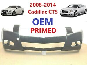 2008 2013 Oem Cadillac Cts Front Bumper Cover primed 25896033 3