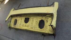 70 71 Ford Torino Coupe Lower Rear Window Trunk Package Tray Cyclone Gt Spoiler