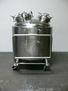 Precision 750 Liter 316l Stainless Steel Jacketed Reactor Pressure Vessel