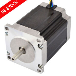 Nema 23 Cnc Stepper Motor Unipolar 1 8deg 1 35nm 191 2oz in 1a 57x76mm 6 Wires