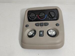 2000 2006 Chevy Gm Denali Yukon Tahoe Suburban Over Head Console Climate Control