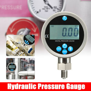 Pressure Gauge Digital Hydraulic 700bar 400bar 10000psi Bsp1 4 g1 4 connector