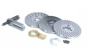 Steel Dividing Plates Set For Hv4 hv6 Rotary Table With Working Manual milling