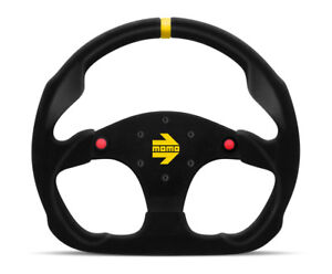 Momo Mod 30 320 Mm W Buttons Suede Racing Steering Wheel New R1960 32shb