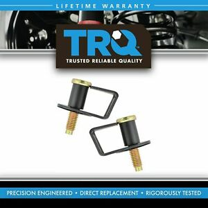 Door Latch Striker Bolts Pair Set Of 2 New For Ford Lincoln Mercury