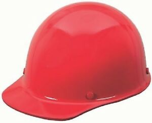 Msa Safety 454620 Red Skullgard Protective Cap W Staz on Pin Lock Suspension