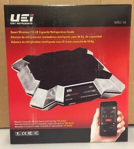 Uei Smart Wireless 110lb Capacity Refrigeration Scale Wrs110