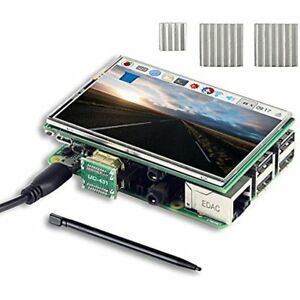 3 5 Inch Hdmi Tft Lcd Display With Touch Screen Pen 3 Heat Sinks For Raspberry
