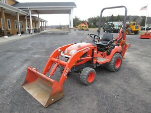 Kubota Bx25d Farm Tractor Loader Backhoe