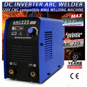 Welder Welding Machine No gas Arc 200a Portable Welders Arc225 Accessories
