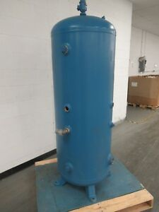 2002 Yr 120 Gal Gallon Penway Vertical Air Receiver Tank 125 Psi Sh 100 Hd 094