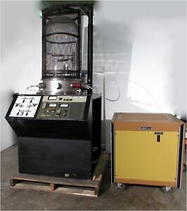 Varian temescal High Vacuum Ionization sputtering System W Cryotorr 8 Pump