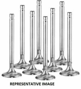 Manley Series Small Block Chevy V8 1 600 Stainless Exhaust Valves Set Of 8