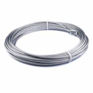 Warn 86515 Winch 3 8 X 94 Wire Rope Cable For Vr10000 Winch