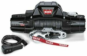 Warn 89611 Zeon 10 S Winch 10000lb Pull W 100ft Synthetic Cable Jeeps Trucks Suv