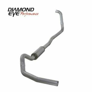 Diamond Eye 4in Turbo back Exhaust 03 07 Ford 6 0l Powerstroke 4x4 At