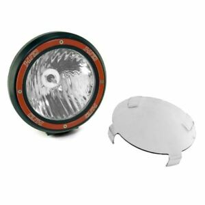 Rugged Ridge 7 Inch Round Hid Off Road Light Black Composite Housing