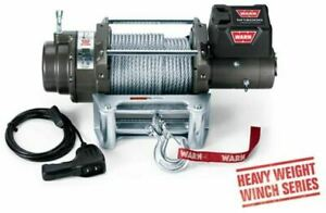 Warn 17801 M12000 Winch 12000lb Pull W 125ft Cable Jeeps trucks suvs