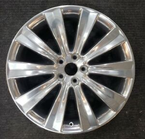 Lincoln Mks 20 Oem Wheel Polished Factory Rim 2013 2016 3930