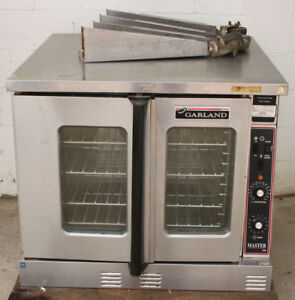 Full Size Garland Master Series 200 Convection Oven 1ph Gas W Legs
