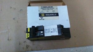 Sq D Powerlink Qob220as 2p 20a 120 240vac Remote Controlled Breaker