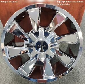 4 New 20 Wheels Rims For Acura Slx Hummer H3 Cadillac Escalade Kia Sedona 6848