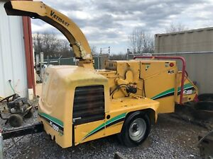 2006 Vermeer Wood Chipper Bc 1000xl 12 Only 1600 Hours Runs Operates Great