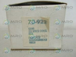 Stancor 70 922 Contactor new In Box