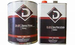 Epoxy Primer Fast Dry Dtm Grey Primer sealer Gallon Kit With Gallon Activator
