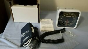 Welch Allyn 767 Wall Gauge W Adult Cuff Ref 7670 01 Blood Pressure Medical Nib