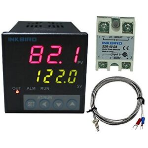 Itc 106vh Temperature Controllers Pid Thermostat Controllers Fahrenheit 100acv