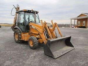 Case 580 Super M Farm Tractor Loader Backhoe