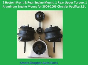 4 Motor Mount For 2004 2005 2006 Chrysler Pacifica 3 5l Engine Trans Mount