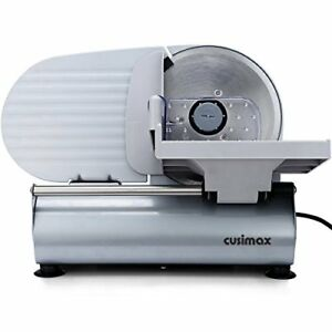 Cusimax 200w Electric Food Slicer With 7 5 inch Blade Precision Meat Deli Cheese