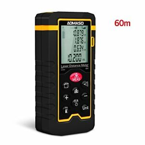 High Precision Handheld Laser Distance Meter 196ft Aomaso Digital Tape Measure