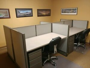 Used Office Cubicles 4 Herman Miller 30x60 Stations