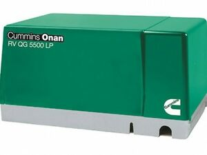 New Cummins Onan 5 5 Hgj ab 901 Rv Gasoline Generator Set Rv Qg 5500
