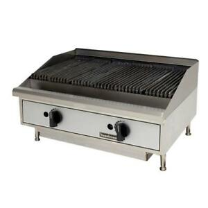 Toastmaster Tmrc24 Countertop Radiant Gas Charbroiler Grill