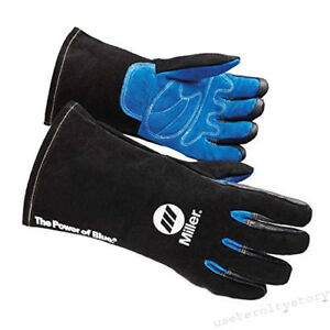 Miller 263343 Arc Armor Mig stick Welding Glove Large